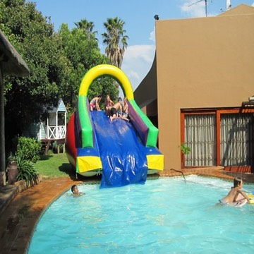 Super Pool Slide 8m x 3m jumping castle